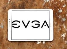 Logo d'EVGA Corporation Images libres de droits
