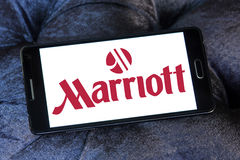 Logo d'hôtels et de stations de vacances de Marriott photo libre de droits