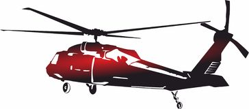Logo d'icônes d'hélicoptère pour les apps mobiles de concept et de Web illustration de vecteur