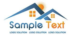 Logo d'immeubles Photo stock