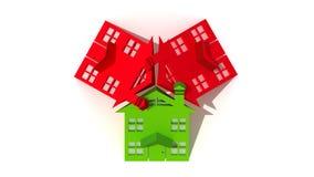 Logo d'immeubles Photos libres de droits