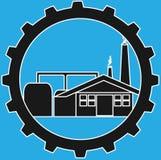 Logo d'industrie photographie stock libre de droits