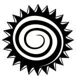 Logo d'industrie de travail du bois Photographie stock libre de droits