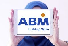 Logo d'industries d'ABM Photo stock