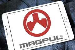 Logo d'industries de Magpul Photo libre de droits