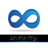 Logo d'infini Images libres de droits