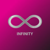 Logo d'infini Photo stock