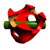 Logo d'ingénierie Image libre de droits