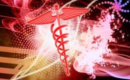 logo 3d médical Photographie stock libre de droits