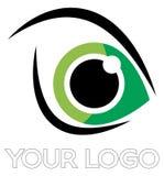 Logo d'oeil Photo stock