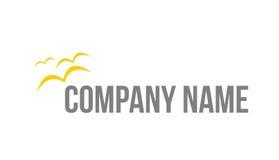 Logo d'oiseaux Images libres de droits