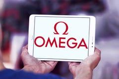 Logo d'Omega image stock
