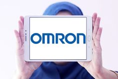 Logo d'Omron Corporation Images stock