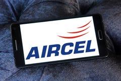 Logo d'opérateur mobile d'Aircel Photographie stock