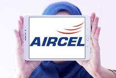 Logo d'opérateur mobile d'Aircel Photo libre de droits