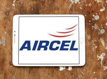 Logo d'opérateur mobile d'Aircel Photo stock