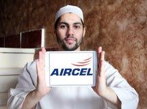 Logo d'opérateur mobile d'Aircel Photographie stock libre de droits