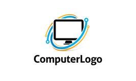 Logo d'ordinateur Photos libres de droits