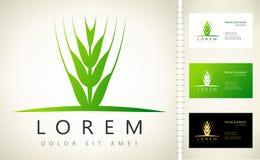 Logo d'oreilles de blé Image stock