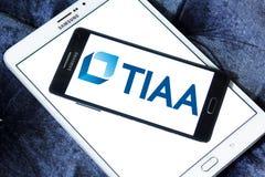 Logo d'organisation de Tiaa Image stock