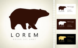 Logo d'ours Images stock