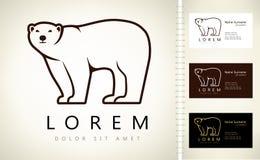 Logo d'ours Image libre de droits