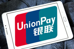 Logo d'UnionPay Images stock