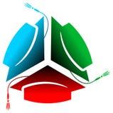 Logo d'université illustration de vecteur