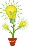 Logo d'usine de feuille Image libre de droits