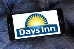 Days Inn hotel chain logo. Logo of Days Inn hotel chain on samsung mobile. Days Inn is a hotel chain headquartered in the United States royalty free stock photo