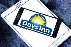Days Inn hotel chain logo. Logo of Days Inn hotel chain on samsung mobile. Days Inn is a hotel chain headquartered in the United States stock photos
