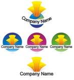 Logo de bâtiment Photos libres de droits