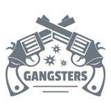 Logo de bandits, style de vintage Images stock