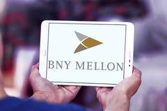 Logo de banque de BNY Mellon Images stock