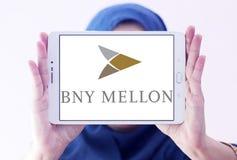 Logo de banque de BNY Mellon Photographie stock