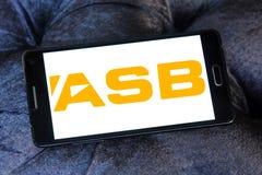 Logo de banque d'ASB image libre de droits