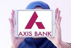 Logo de banque d'axe Photo stock