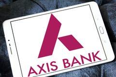 Logo de banque d'axe Image libre de droits