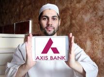 Logo de banque d'axe Images stock