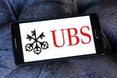 Logo de banque d'Ubs Photos stock