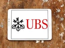 Logo de banque d'Ubs Photo stock