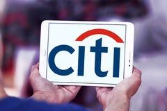 Logo de banque de Citi Photos stock
