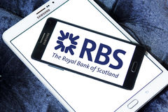 Logo de banque de Rbs Images libres de droits