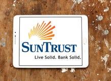 Logo de banque de SunTrust Photos libres de droits