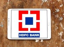 Logo de banque de HDFC Photographie stock