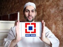 Logo de banque de HDFC Images libres de droits