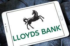 Logo de banque de Lloyds Images libres de droits