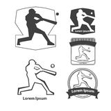 Logo de base-ball Image stock