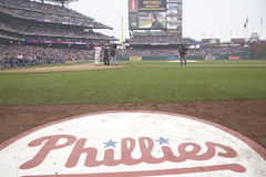Logo de base-ball de Philadelphia Phillies Photo libre de droits