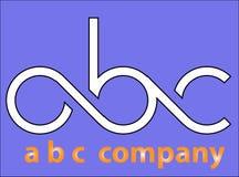 Logo de base pour une société photos stock
